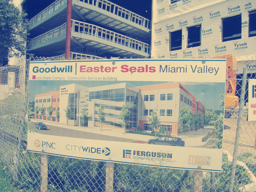 Goodwill Easter Seals Miami Valley: Lot Consolidation and Record Plans